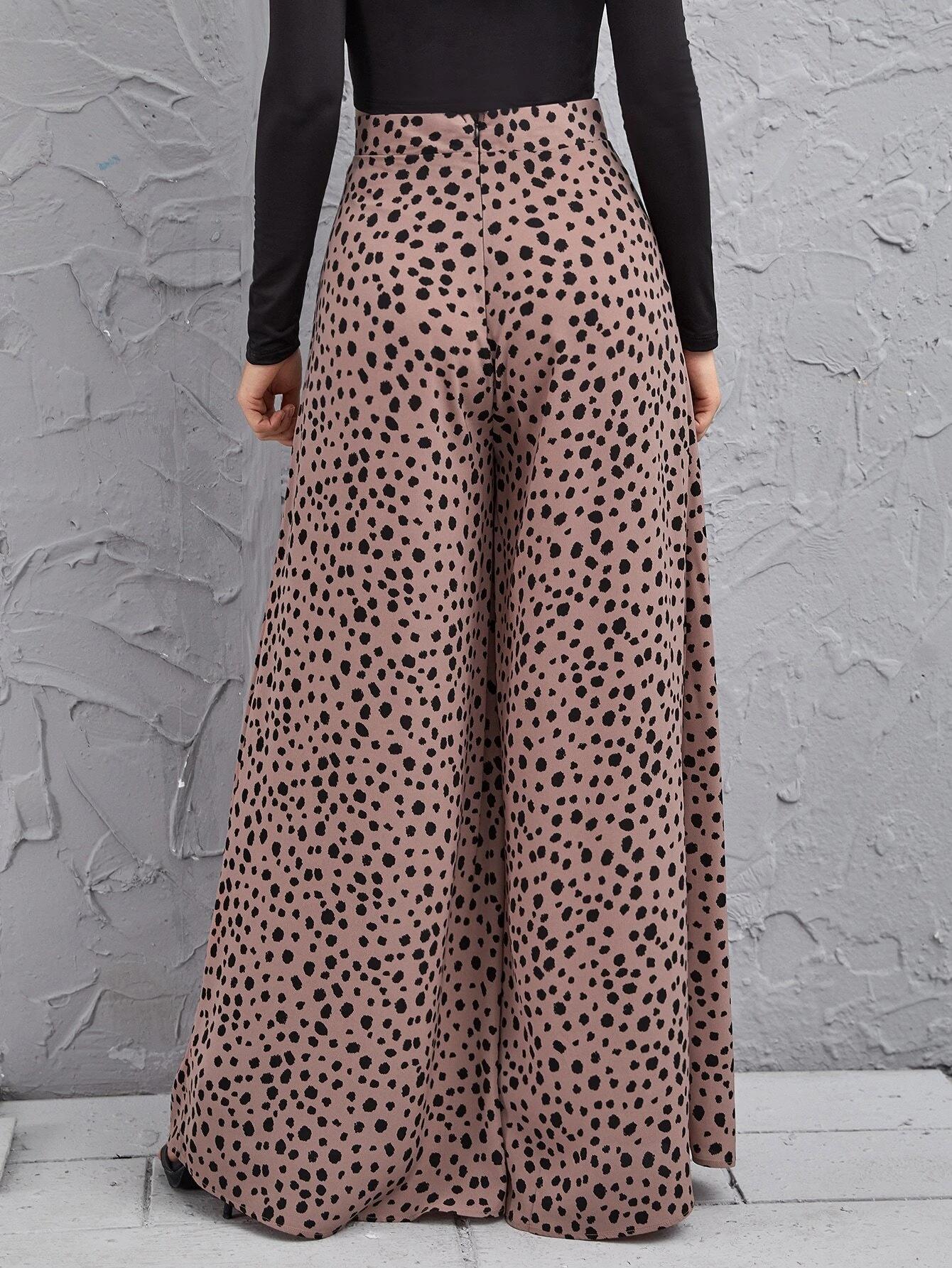 High Rise Dalmatian Pants